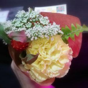 お花を確認しましょう